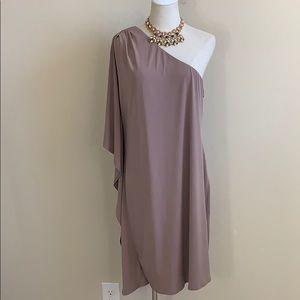 Calvin Klein Dressy One Shoulder Dress (14)